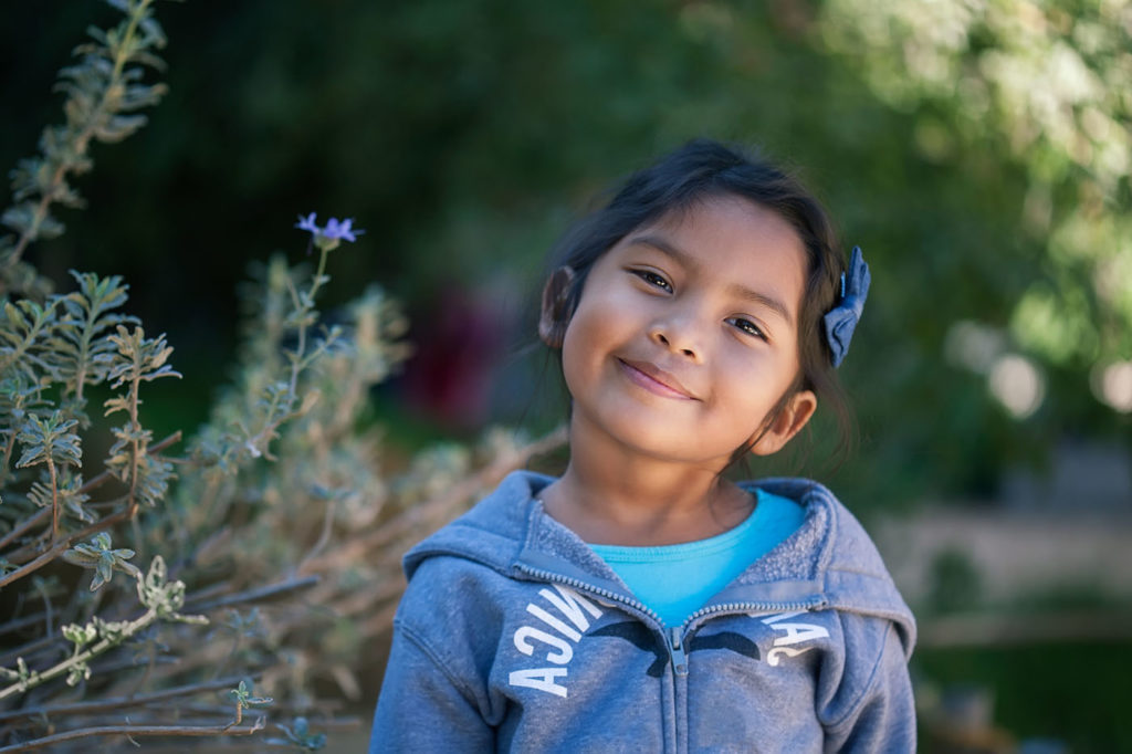 Hispanic young girl at a Preschool & Daycare Serving Bordentown, NJ